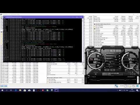 GeForce RTX 2070 SUPER Mining RVN Ravencoin X16R Hashrate