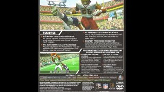 Madden NFL 07 Hall of Fame Edition - PS2 2006 (Bonus DVD Making of Madden NFL 07 for PS3)