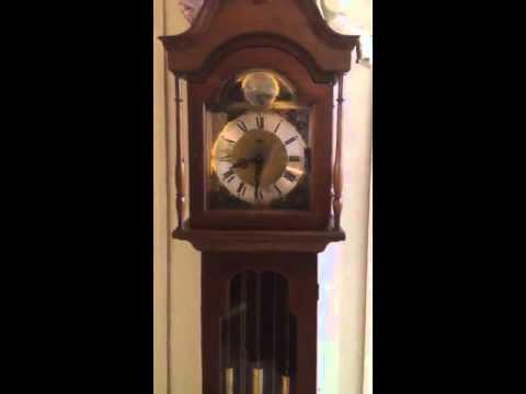 Ridgeway tempus fugit grandmother clock manual