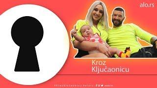KROZ KLJUČAONICU: Nikola Lakić i Coka otvorili vrata svog stana, po prvi put pokazali sina Lazara!