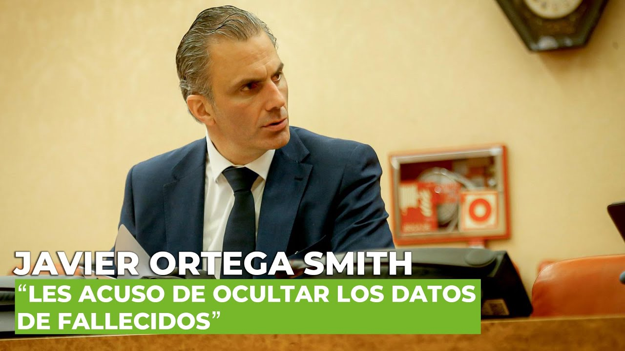 """Ortega Smith, al Gobierno: """"Les acuso de ocultar los datos de fallecidos"""""""