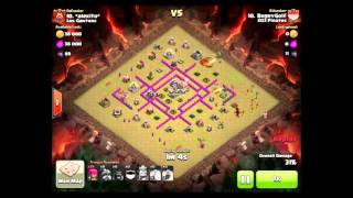 Clash of Clans 3 star war attack and strategy
