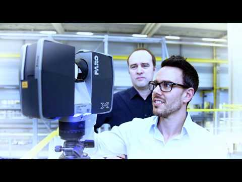 Dürr: 3D LASER SCANNING - Measuring plants for expansion projects