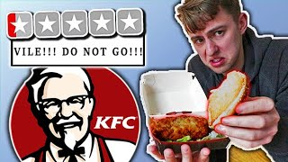 Eating at Worst Rated Restaurant in Galway City (KFC)