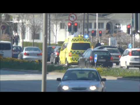 Responses - Ambulance Services in Copenhagen