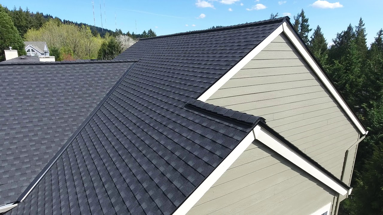 Nw Home Exteriors Gaf Timberline Hd Charcoal Youtube