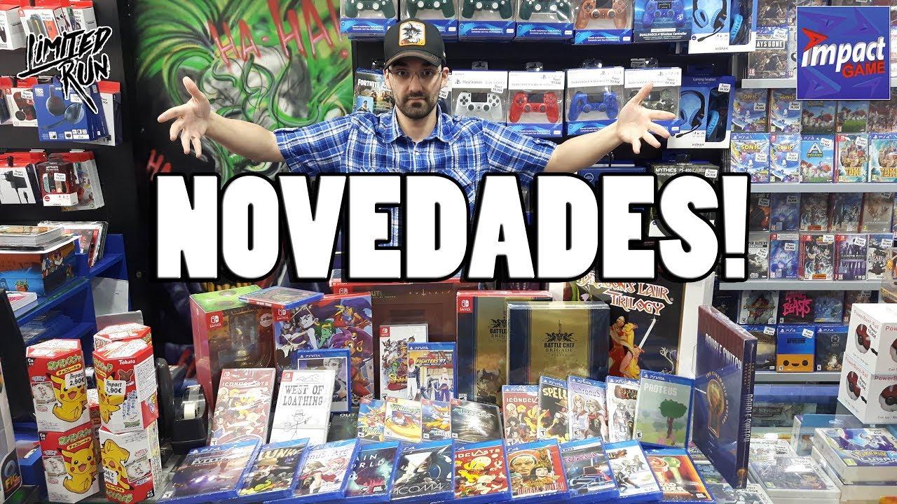 Ver Novedades de Limited Run Games en Impact Game | ¡Unboxing de 7 Cajas Gigantes! en Español