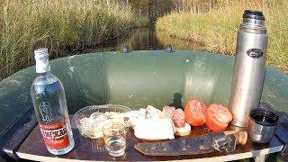 Рыбалка с ночёвкой осенью,удачный сбор грибов и отдых 18+)-Часть 1