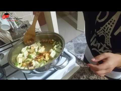 Taze Kabak Ve Bulgur Pilavı Tarifi , Yapılışı - Fresh Zucchini And Bulgur Pilaf   Anatolian Supper