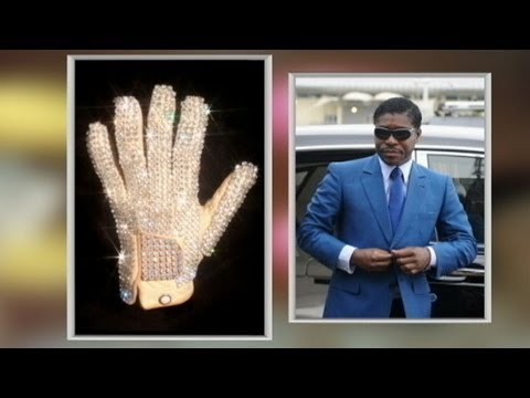 Michael Jackson's White Glove Bought with Public Funds?