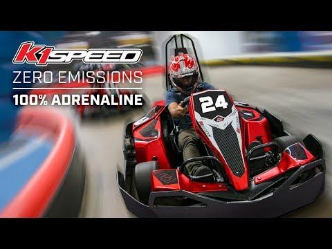 K1 Speed - The World's Leading Indoor Go-Karting Center!
