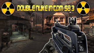 MW2- Double Nuke With Famas In TDM! (58-3) LIVE
