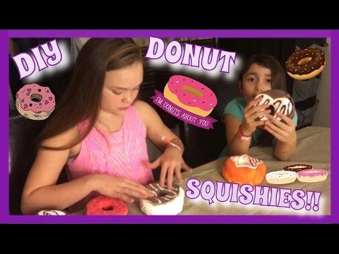 HOMEMADE DONUT SQUISHY!!!! | DIY SQUISHIES