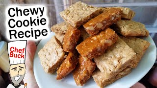 Best Chewy Cookie Recipe - Brown Sugar Bar Cookies