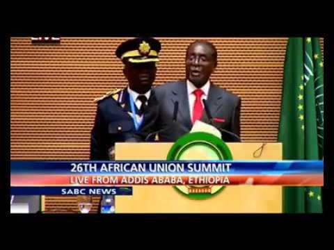 MUGABE BLAST AFRICAN UNION