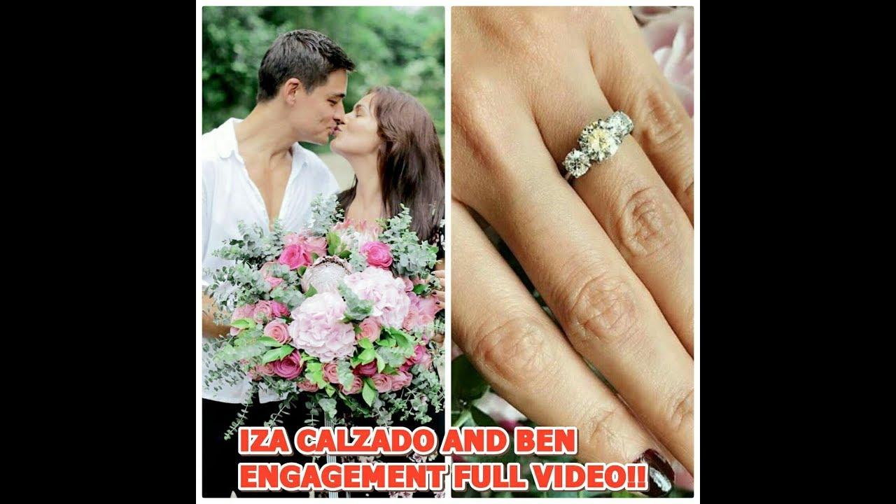 426dba00 FULL VIDEO OF IZA CALZADO AND BEN WINTLE ENGAGEMENT VIDEO!!! - YouTube