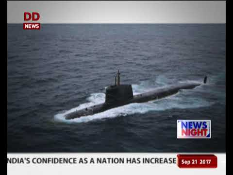 भारतीय नौसेना को मिली पहली स्कोर्पियन पनडुब्बी आईएनएस कलवरी