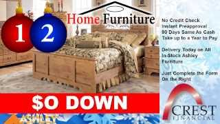 Montgomery Home Furniture - Crest Financial No Credit Check Ashley Furniture Sale