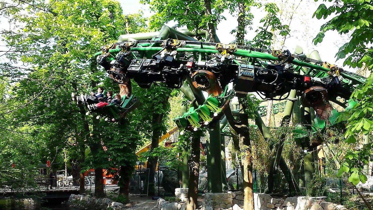 How To Stop Rust >> Arthur The Ride - Testfahrten 2 - Europa-Park Neuheit 2014 - YouTube