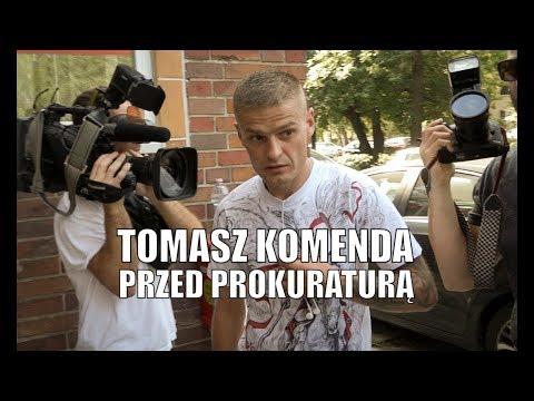 Tomasz #Komenda przed prokuraturą