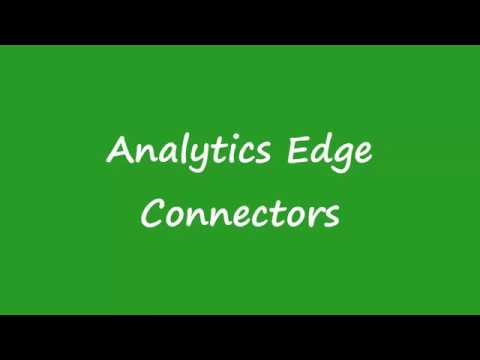 Analytics Edge Add-ins and Connectors