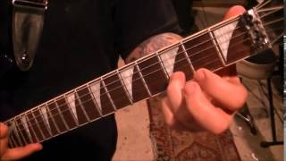 How to play Sad by Pearl Jam on guitar by Mike Gross(CVT Lesson for John)