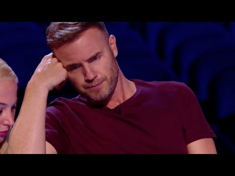 Watch Gary get his grump on  The X Factor UK 2012