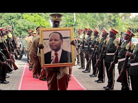 Burundi pays final tribute to former president Bagaza