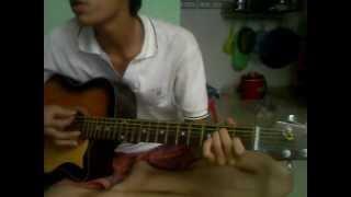 tập chơi guitar điệu slow bài đêm cuối