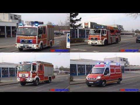 [BMA-Alarm wegen Wasserrohrbruch] Einsatzfahrten an der FF Neu-Isenburg