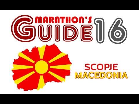 Marathon's Guide #16 Skopje, Macedonia (Гид в мире легкоатлетических пробегов, Скопье, Македония).