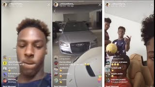 BRONNY James, Mikey Williams Gives a TOUR of Lebron James' HOUSE, CARS, SHOES! 👑