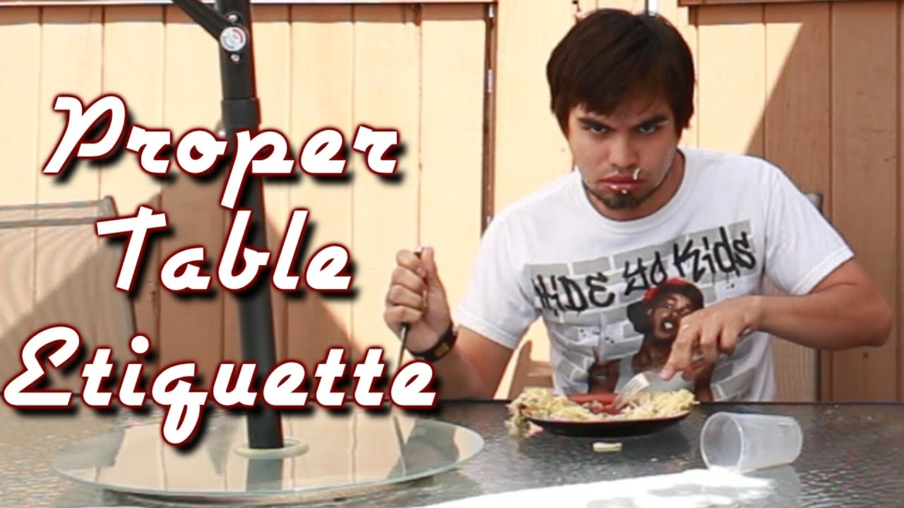 Proper Table Etiquette YouTube : maxresdefault from www.youtube.com size 1920 x 1080 jpeg 205kB