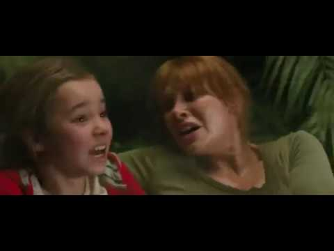 Jurassic World: Fallen Kingdom (2018)-Indoraptor Attacking Claire And Maisie/Indoraptor Stab Claire