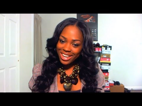 how to style brazilian body wave hair new hair beautiful wave initial review 2334 | hqdefault