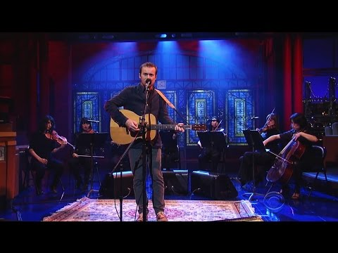Damien Rice - I Don't Want To Change You (Letterman 2014)