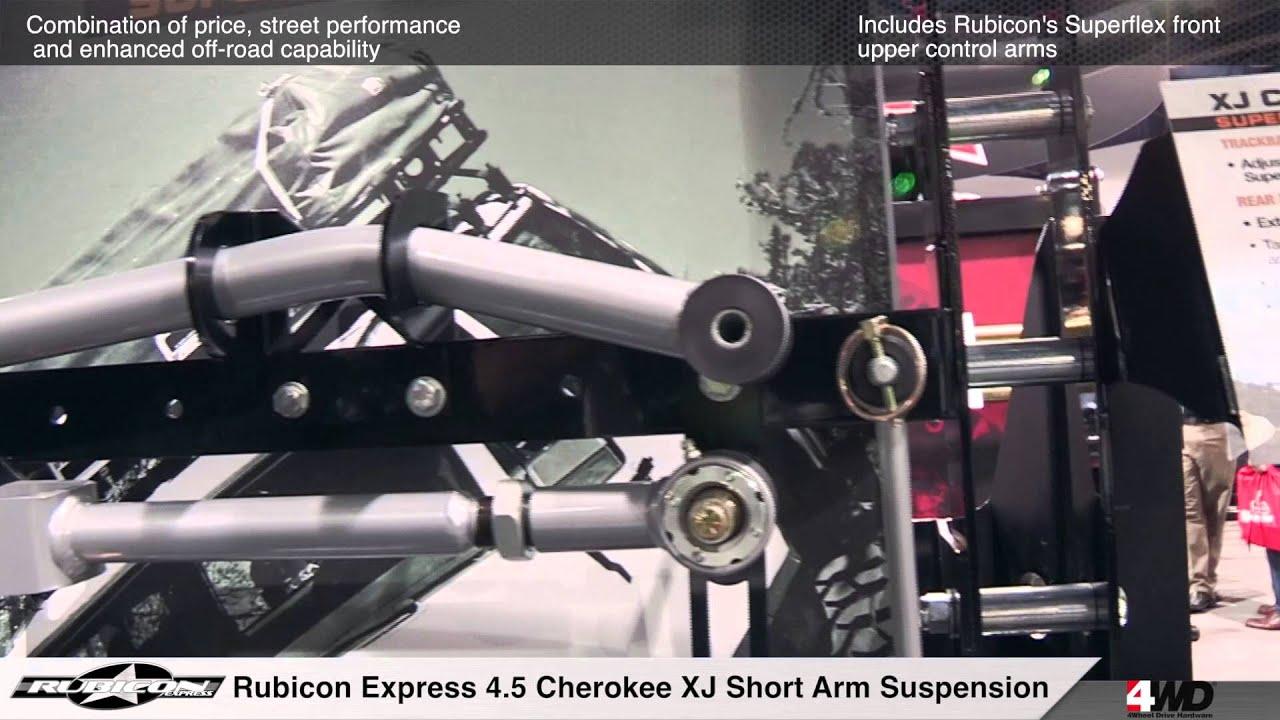 Rubicon Express Cherokee XJ Superflex 4 5 Inch Short Arm Suspension