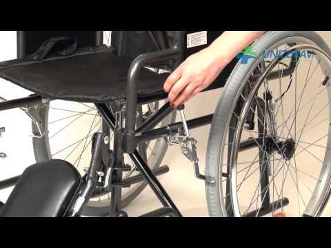 Invalidný vozík - polohovateľný - www.UNIZDRAV.sk
