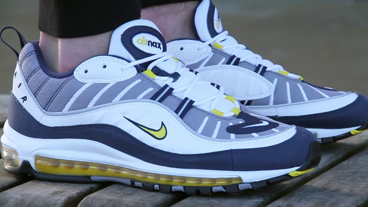 Nike Air Max 98 Sneakers - Tour Yellow - YouTube dfff9a70e