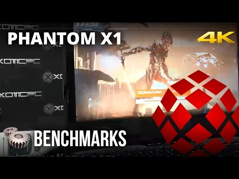 PHANTOM X1 - Benchmarks by XOTIC PC