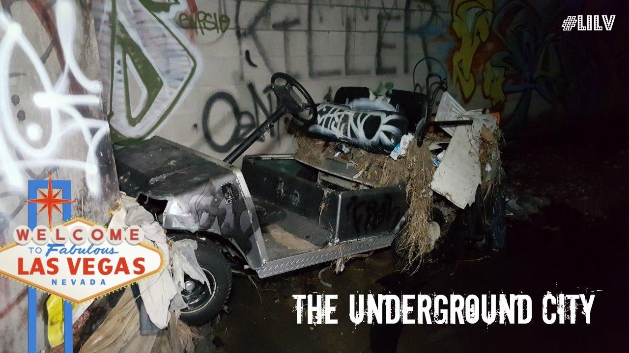 55 and over living in las vegas - Exploring Las Vegas Underground City