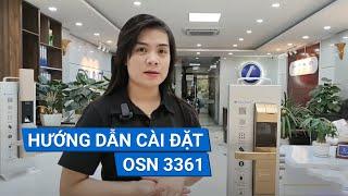 Hướng dẫn cài đặt khóa cửa thông minh OSUNO - OSN3361