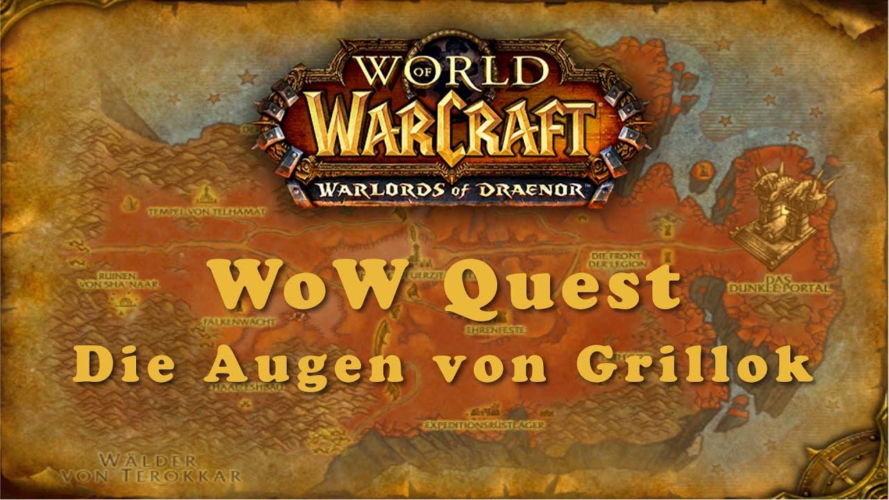 WoW Quest: Die Augen von Grillok - YouTube