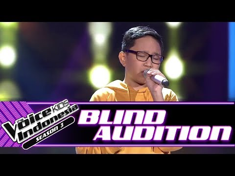 Billy - Jealous | Blind Auditions | The Voice Kids Indonesia Season 3 GTV 2018