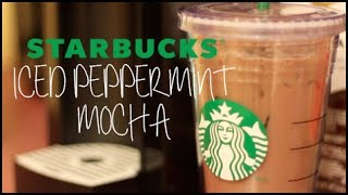 Making a Starbucks Iced Peppermint Mocha! Thumbnail