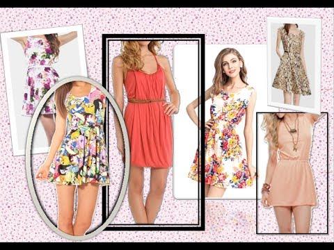 Vestidos diario de verano