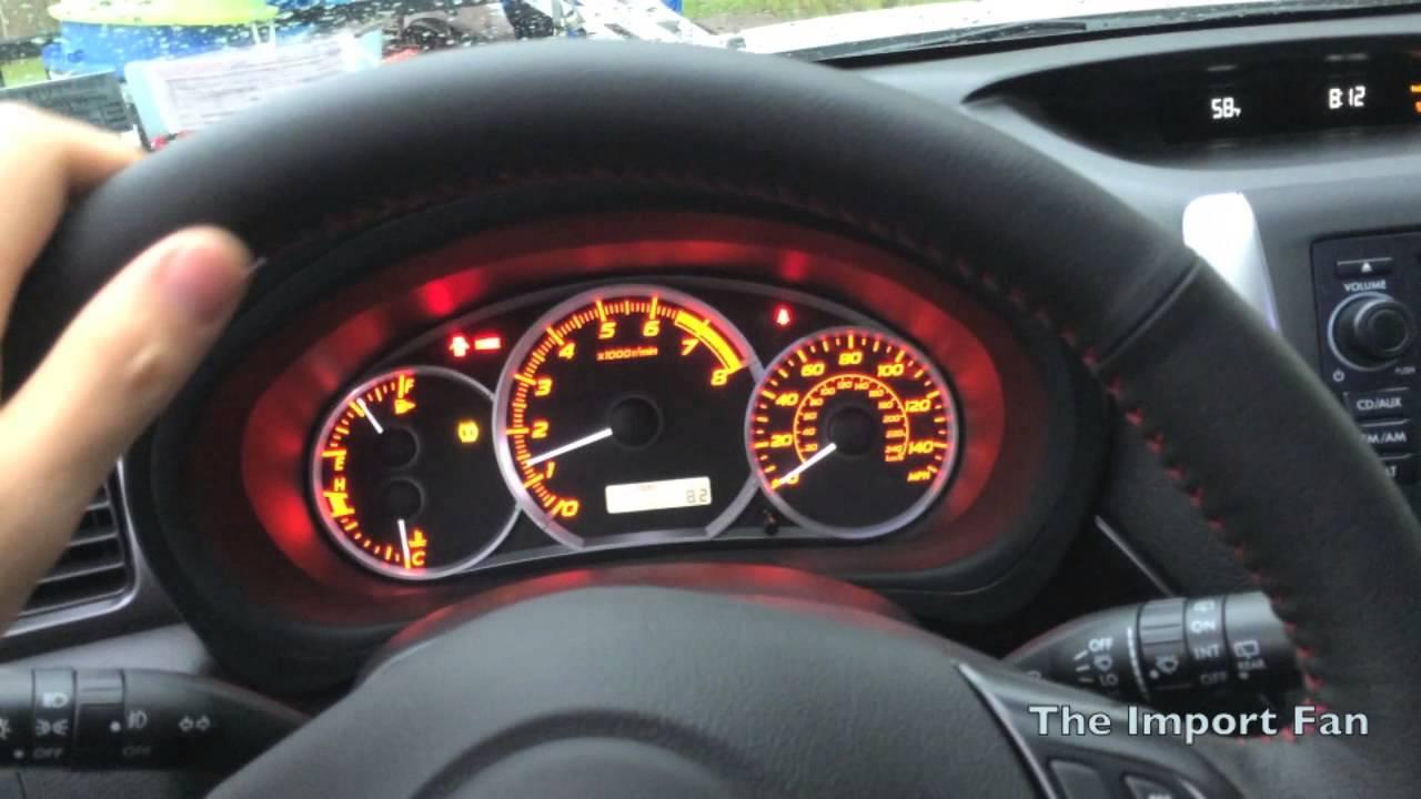 2014 Subaru Wrx Hatchback Walkaround Startup Youtube