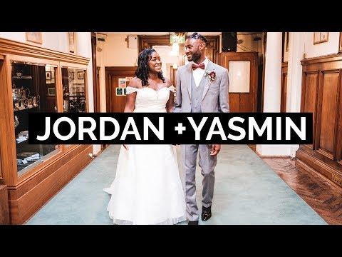 Jordan + Yasmin's Short Wedding Film at Stockport Town Hall