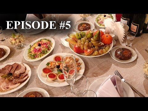 What's On New Year's Table Of Ordinary Russian People? New Year Celebration With Different Russia