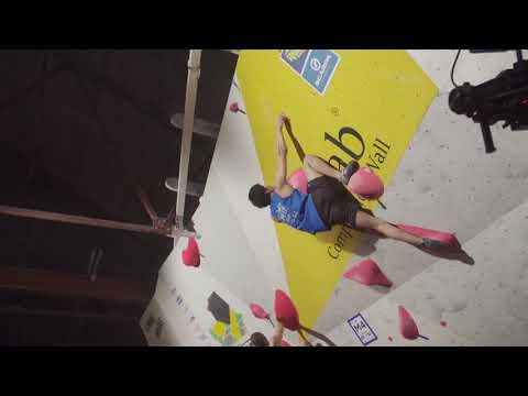 Kokoro Fujii takes the win at the Rab CWIF 2018